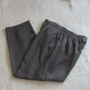 Briggs New York Petite Dark Grey Pants